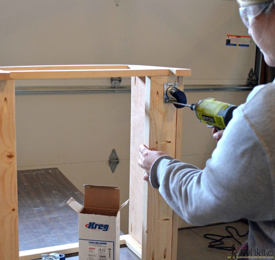 Step 6 crate table attach casters