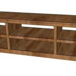 Shoe Shelf Bench with Pocket Holes
