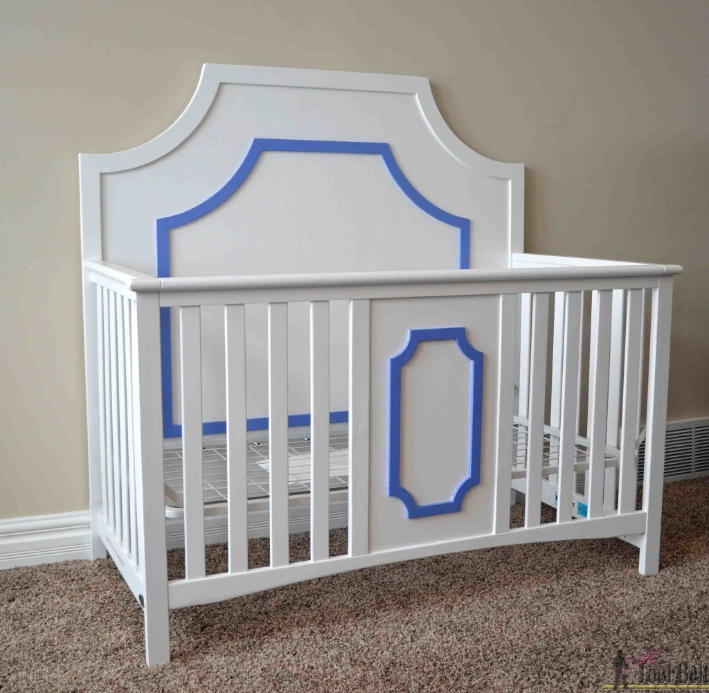 This is so cool! I can change my old crib into a glamorous designer style crib for about $50.