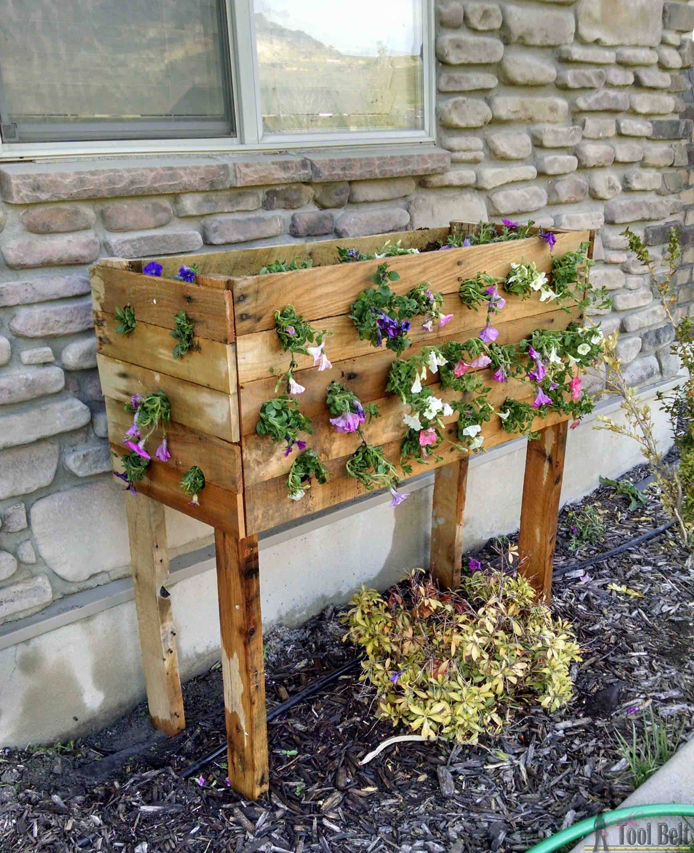 Cascading Flower Planter Box