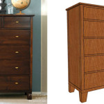 Tall Dresser with Tapered Legs