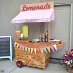 DIY Lemonade Stand with Wheels
