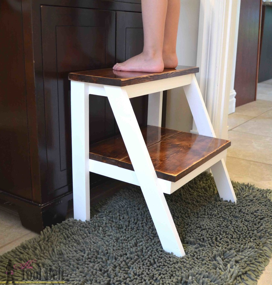 Give yourself a boost! Perfect kid step stool to wash hands. #oneboardchallenge