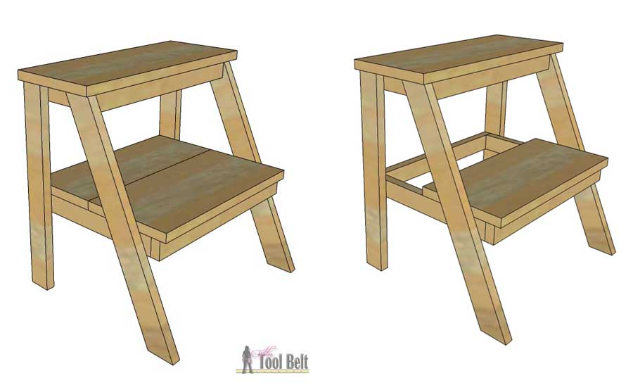 Build this simple DIY step stool for those hard to reach  sc 1 st  Her Tool Belt & Kidu0027s Step Stool - Her Tool Belt islam-shia.org