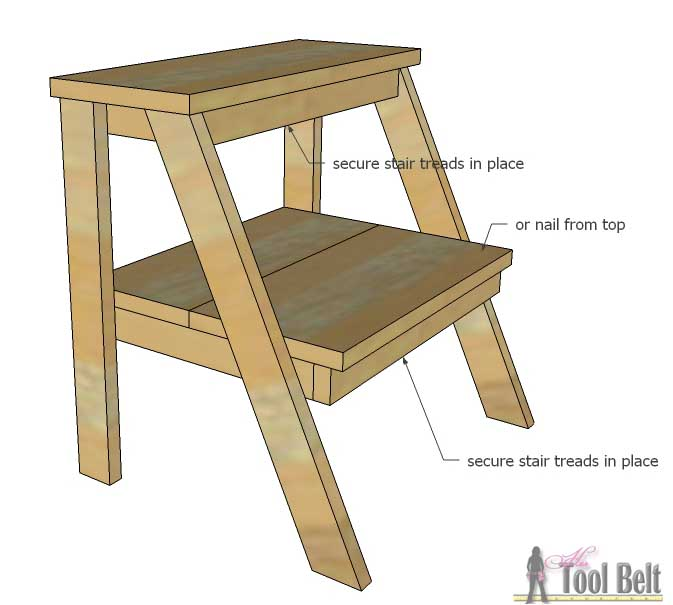 Diy Step Stool Ideas Diy Do It Your Self