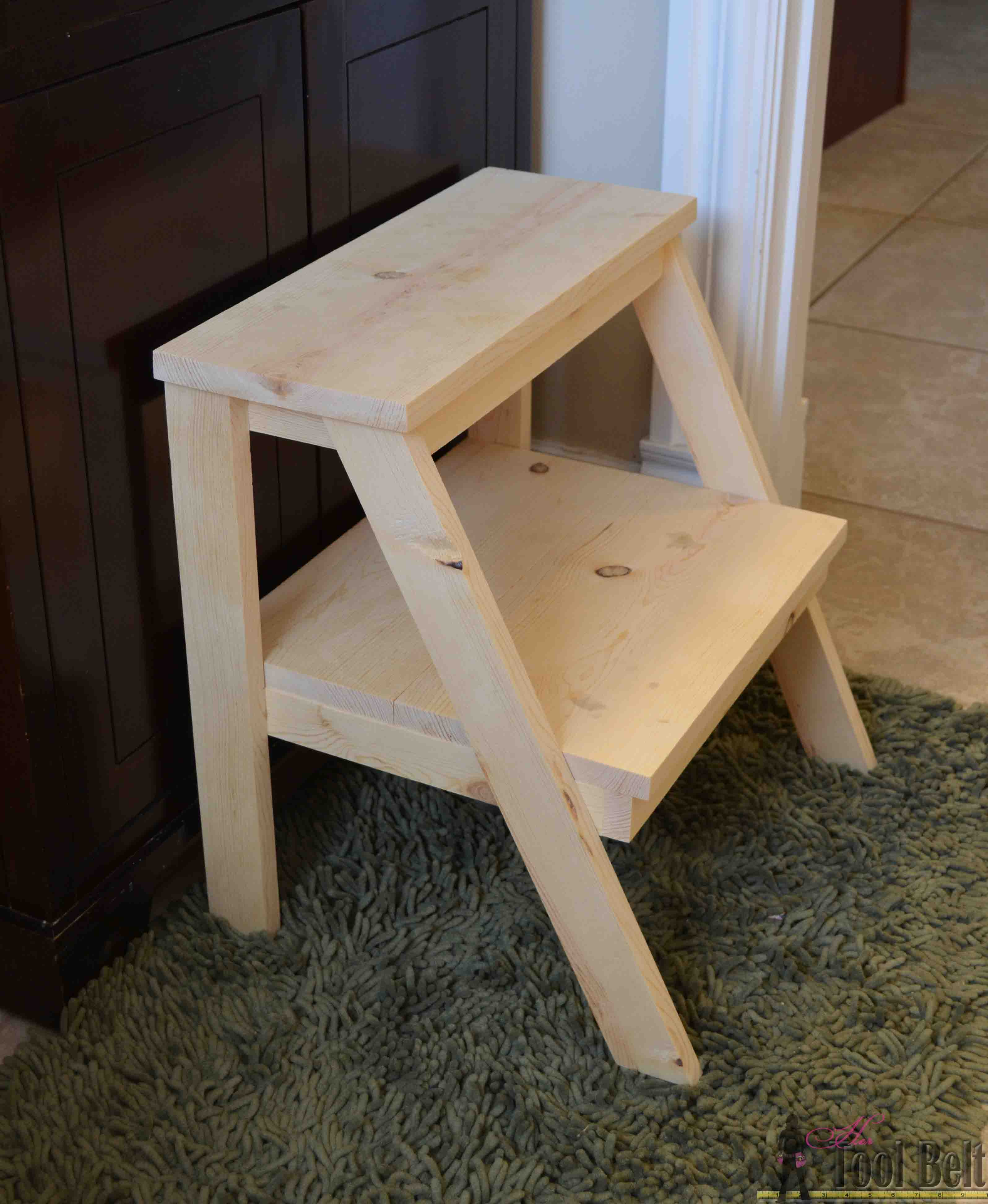 Awesome Kids Step Stool Her Tool Belt Creativecarmelina Interior Chair Design Creativecarmelinacom
