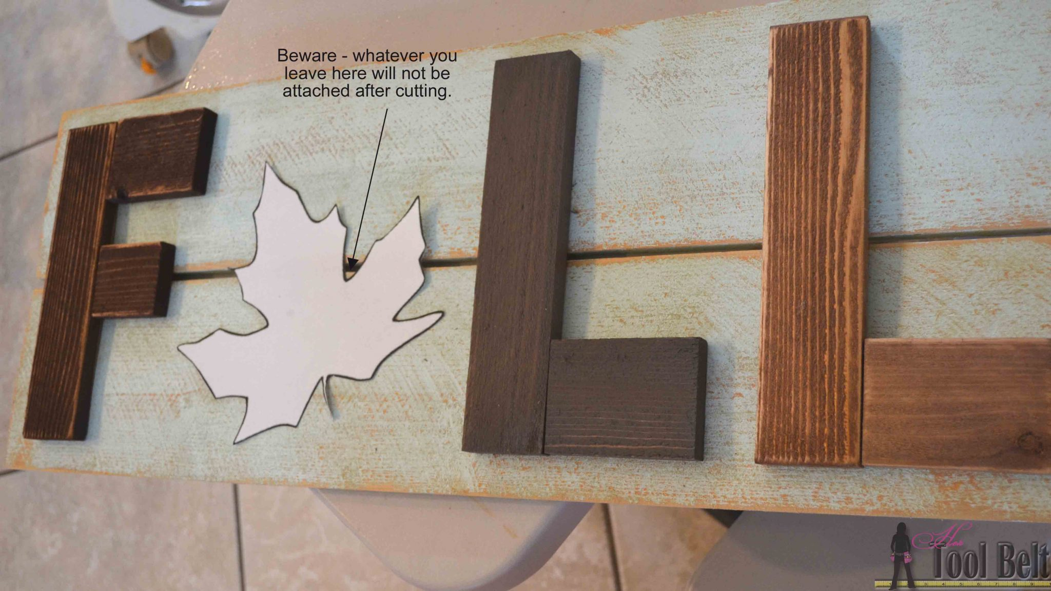 How To Decorate Wooden Letters With Paint