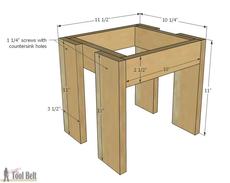 Build An Easy Table And Chair Set For The Little Kids Costs About