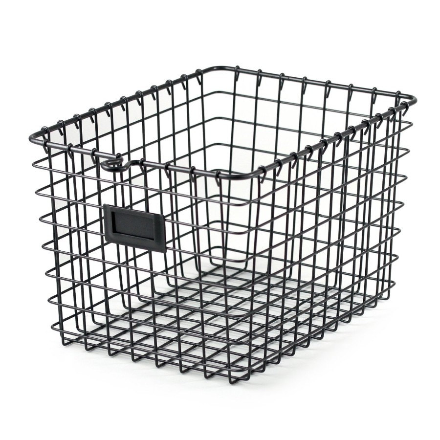 wire basket styled x3 her tool belt. Black Bedroom Furniture Sets. Home Design Ideas