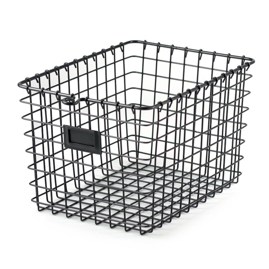 wire basket styled x3 her tool belt. Black Bedroom Furniture Sets. Home Design Ideas