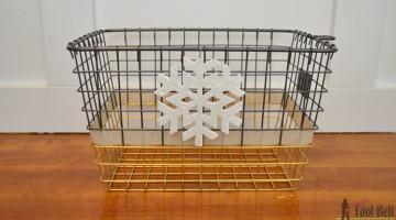 Wire Basket Styled-X3