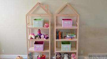 House Frame Shelves