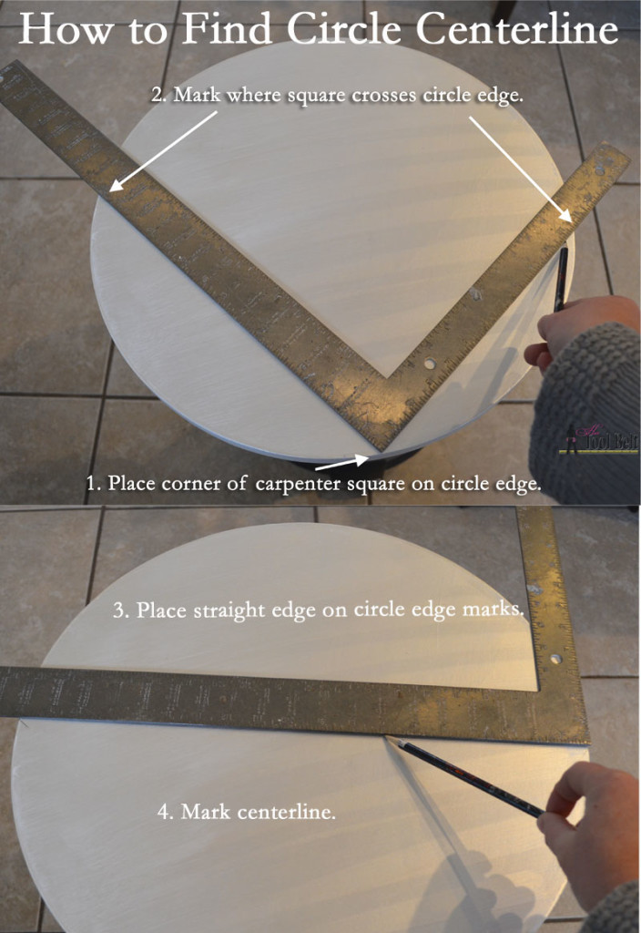 How to find circle centerline