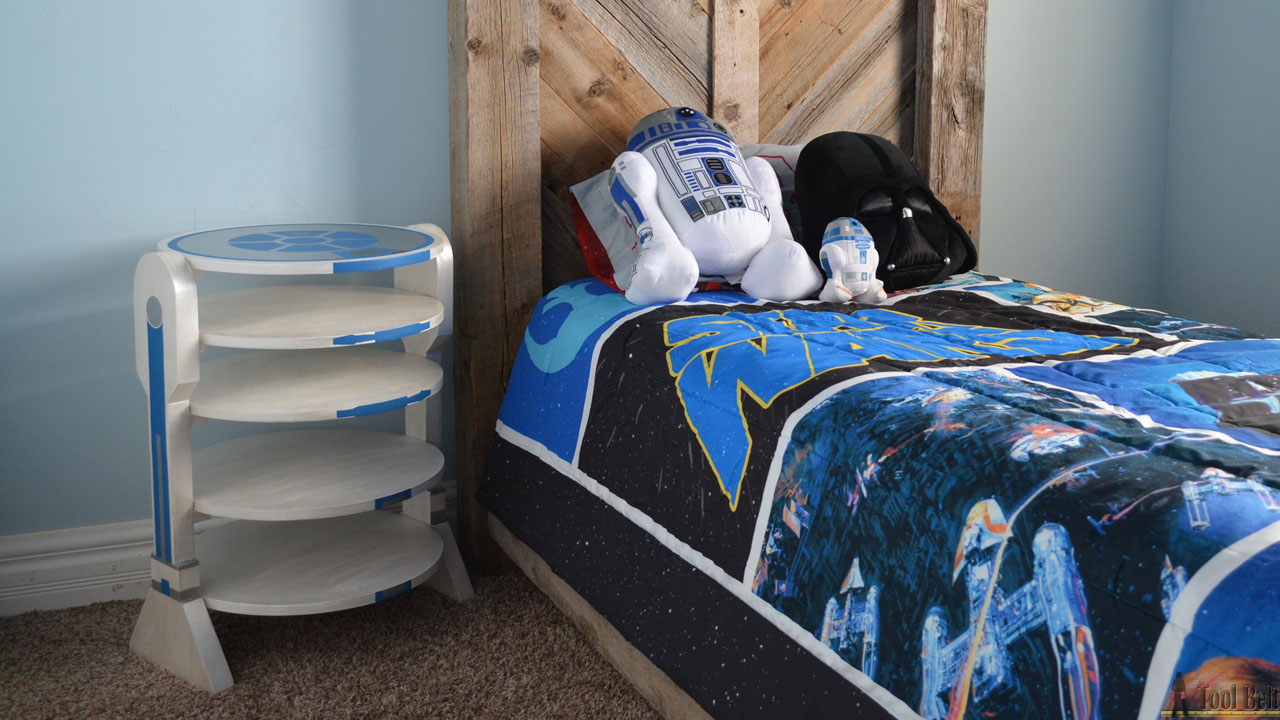 R2 D2 Side Table Her Tool Belt