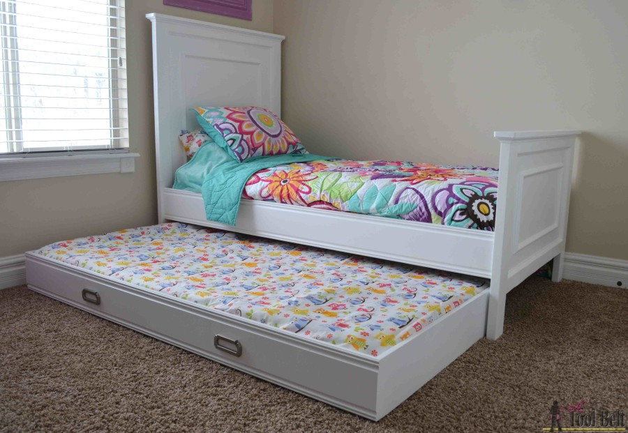 Simple twin bed trundle mattress