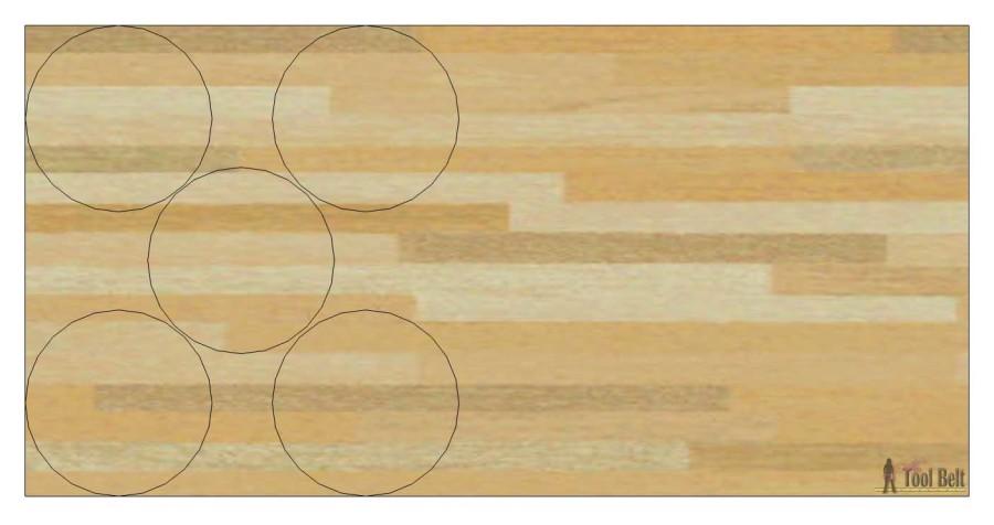 circle cut diagram