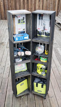 Crate Storage Locker