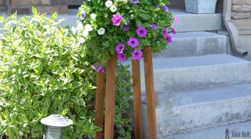 DIY Flower Pot Stand
