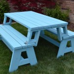 Convertible Picnic Table and Bench