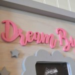 Dream Big – Wood Scroll Sign