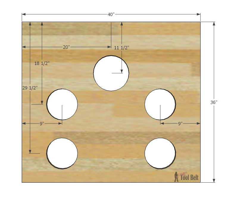 Football toss game, free plans and tutorial.