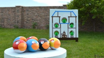 DIY Football Toss
