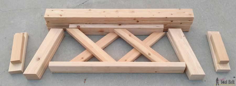 double x bench plans her tool belt