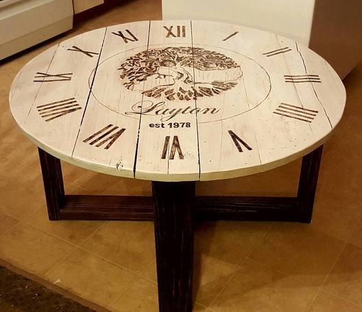 Ordinaire Clock Table