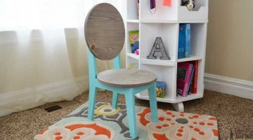 Circle Back Kids Chair Plans