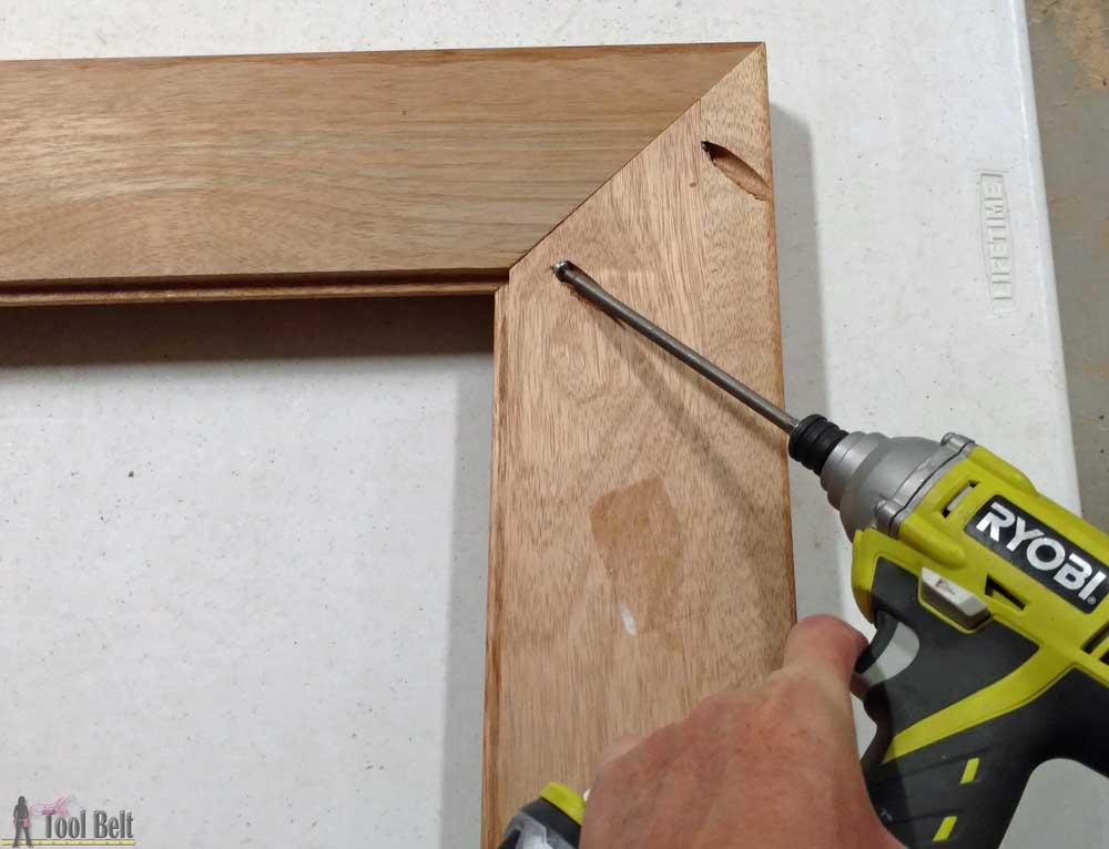 How To Resize A Wood Picture Frame Her Tool Belt