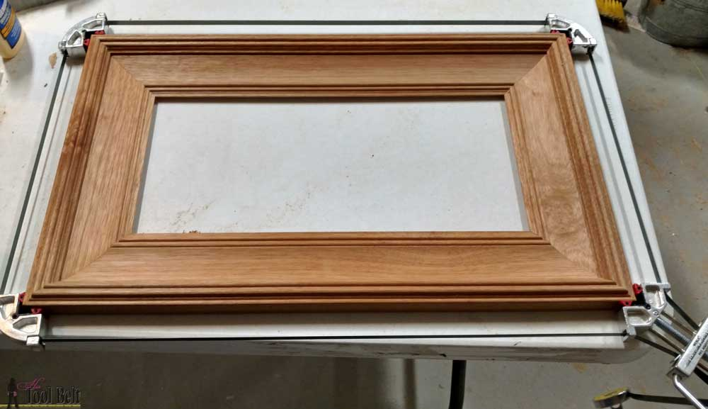 How to Resize a Wood Picture Frame - Her Tool Belt