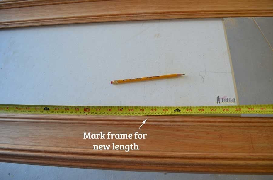When the wrong sized picture frame is too good of a deal to pass up, use these tips to easily resize a wood picture frame.
