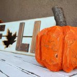 Stump Pumpkin (log pumpkin)