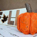 Stump Pumpkin (log pumpkin)