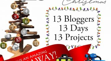 13 days of Christmas Woodworking Countdown