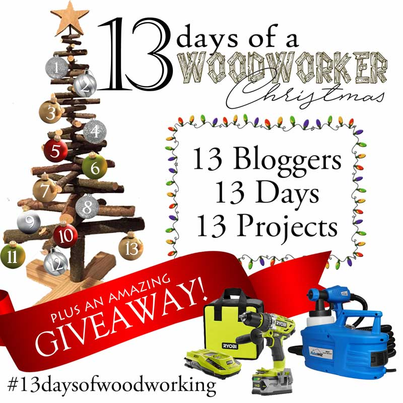 Christmas Countdown - 13 days of a woodworker Christmas