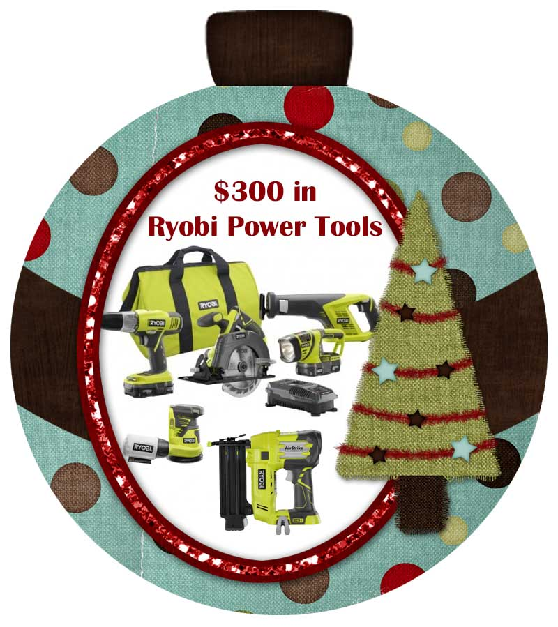 Enter to win $300 in Ryobi Power Tools on Hertoolbelt.com