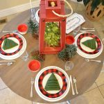 Buffalo Check Holiday Tablescape