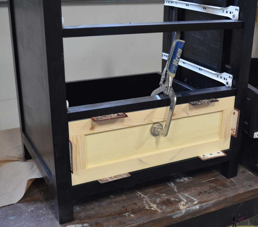 Free plans for a DIY craftsman style 3 drawer nightstand perfect for any bedroom.  This nightstand will give you plenty of storage at your bedside.