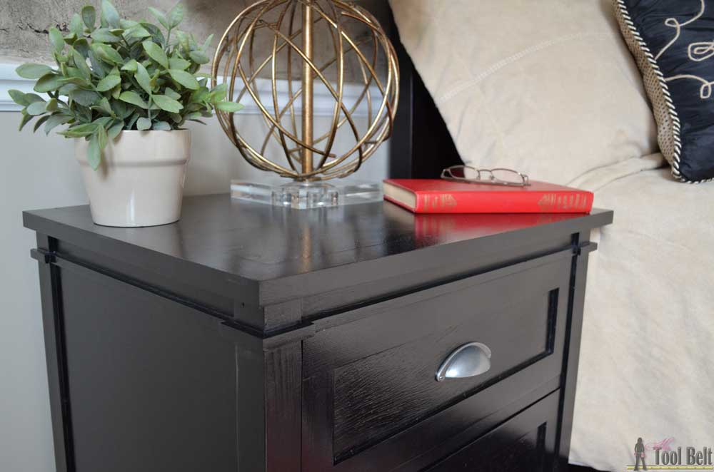 Free Plans For A DIY Craftsman Style 3 Drawer Nightstand Perfect Any Bedroom This