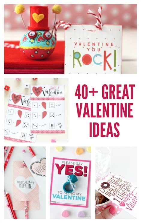 40+ great valentine ideas