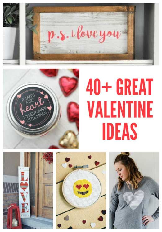 40+ great handmade Valentine ideas