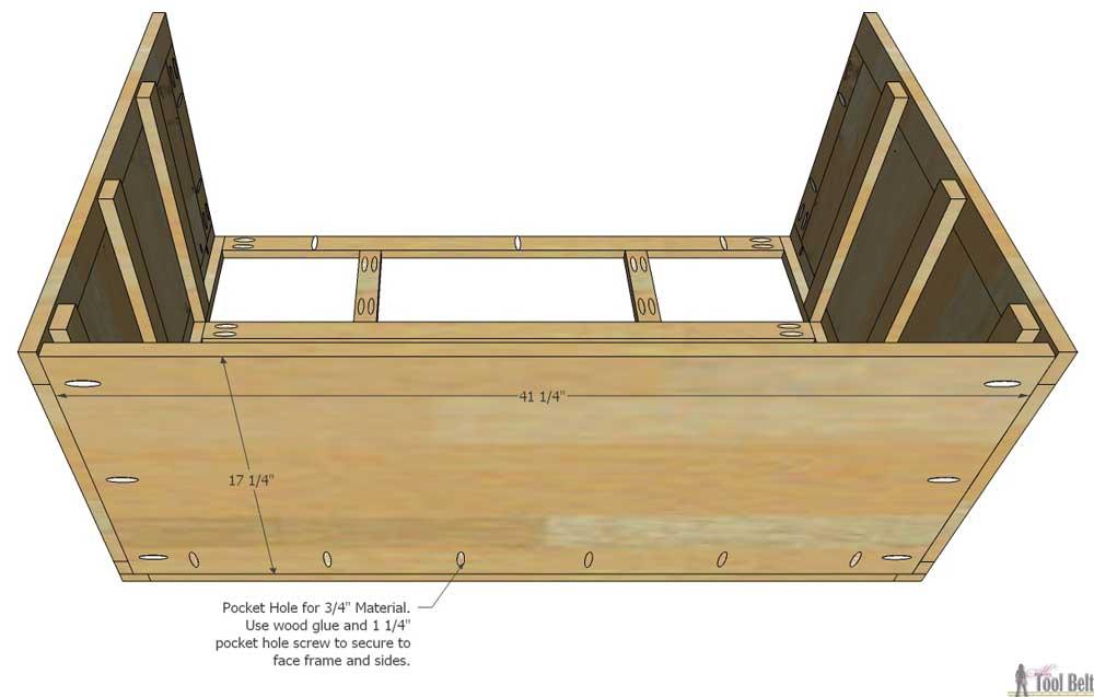 5 Drawer Dresser Changing Table Her Tool Belt