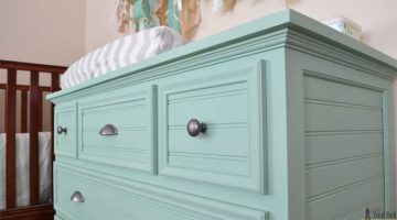 5 Drawer Dresser Changing Table