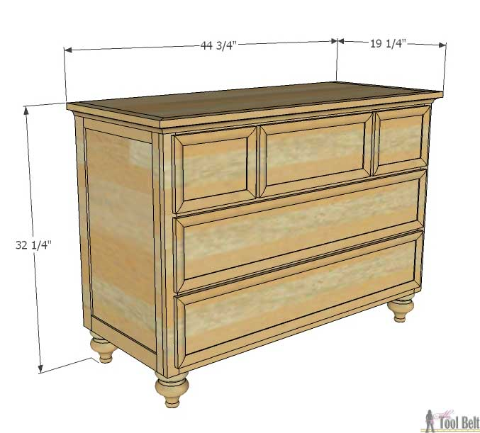 chalk painted turned furniture hometalk dresser woodworking paint changing table updated this projects