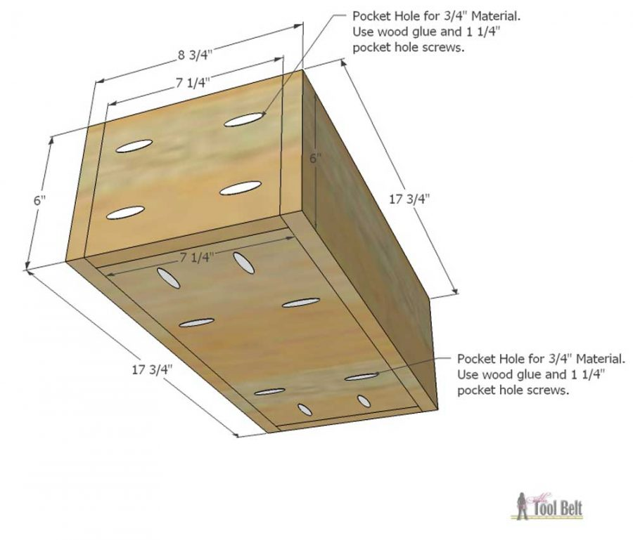 Free plans to build a DIY 5 drawer dresser/changing table with bead board detail.