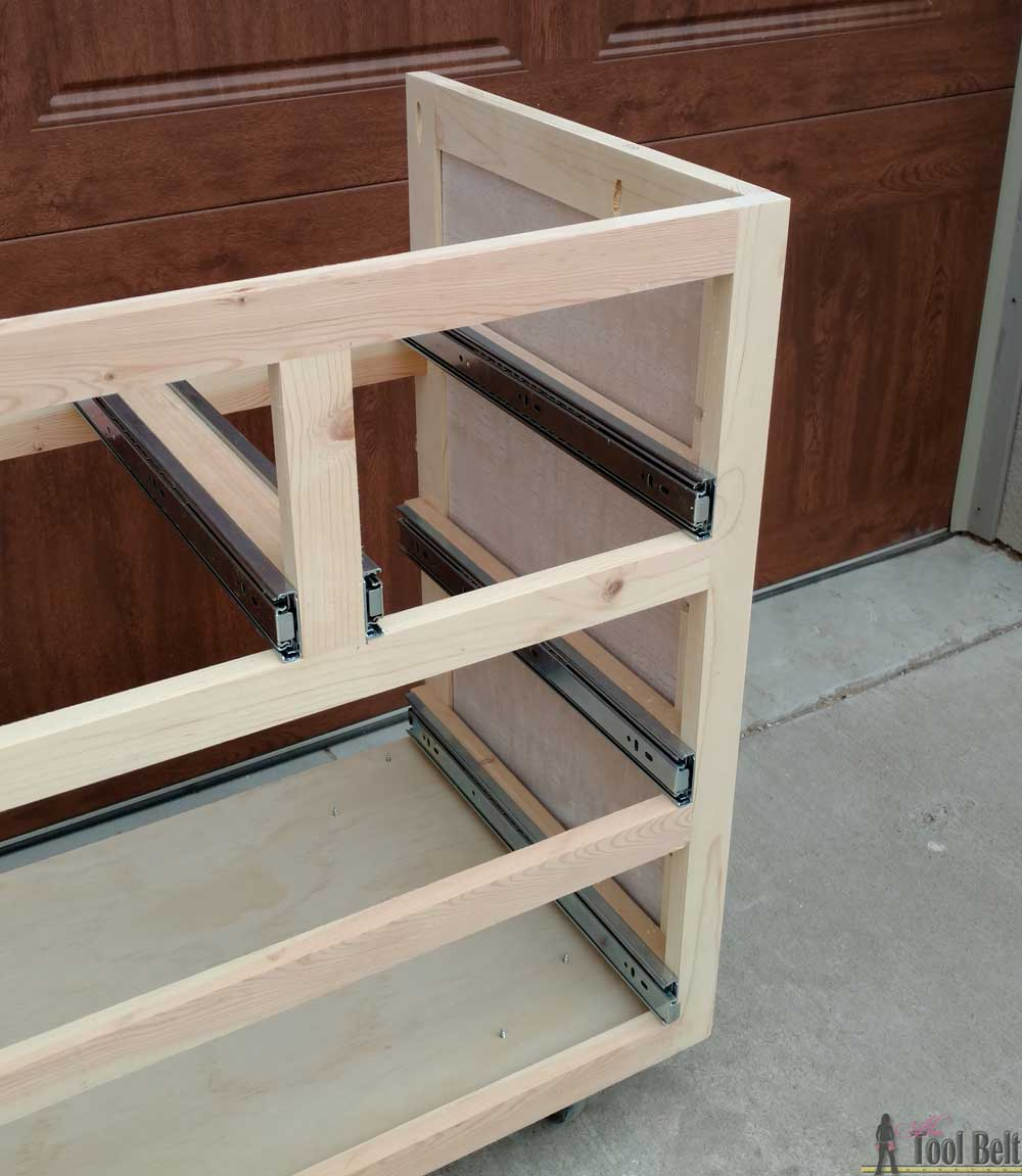 Free Plans To Build A DIY 5 Drawer Dresser/changing Table With Bead Board  Detail
