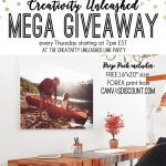 Creativity Unleashed #159 Link Party