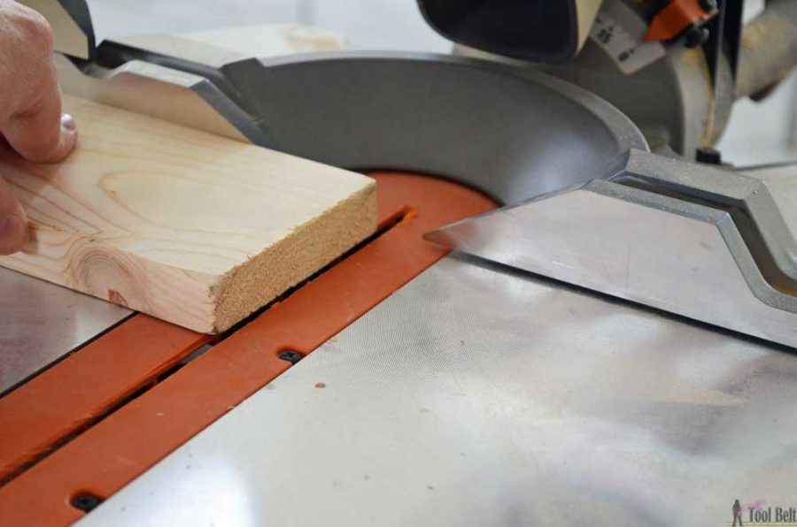 Getting started in woodworking guide - start off with a straight cut
