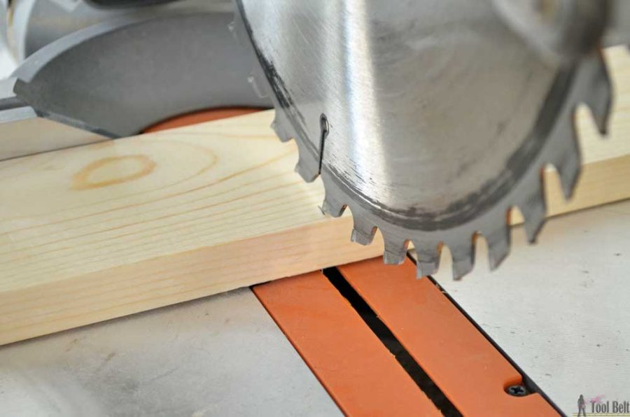 Getting started in woodworking guide - making the cut.